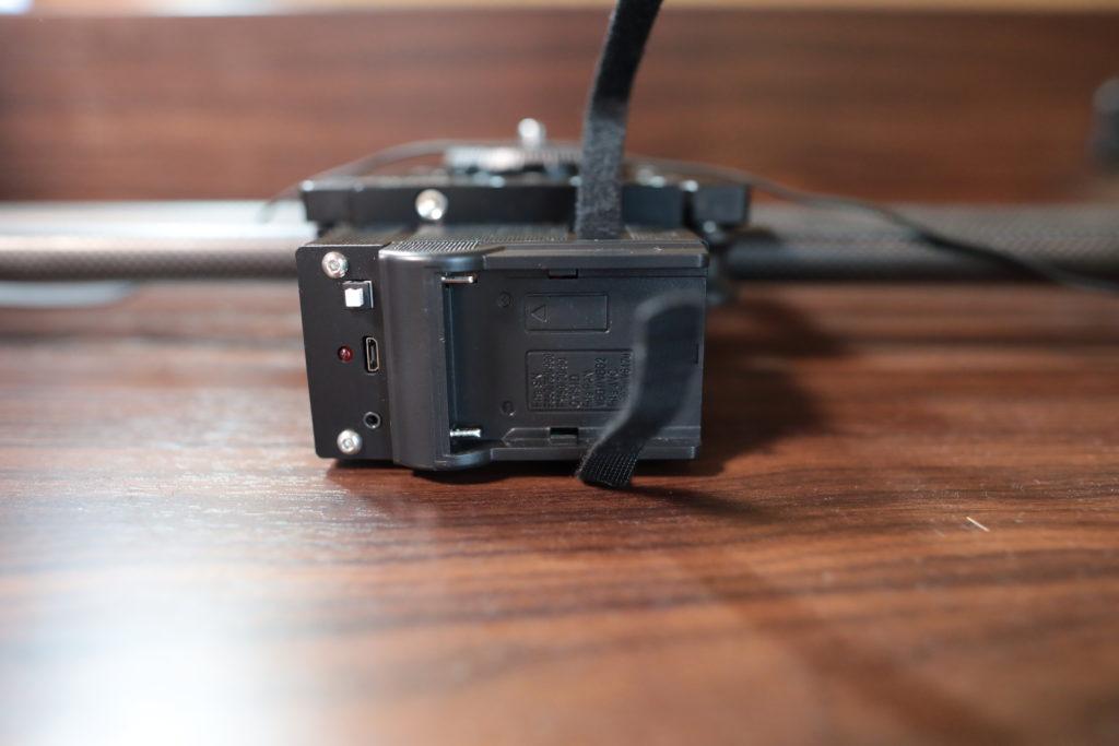 NEEWER31インチ電動スライダーモーター部分