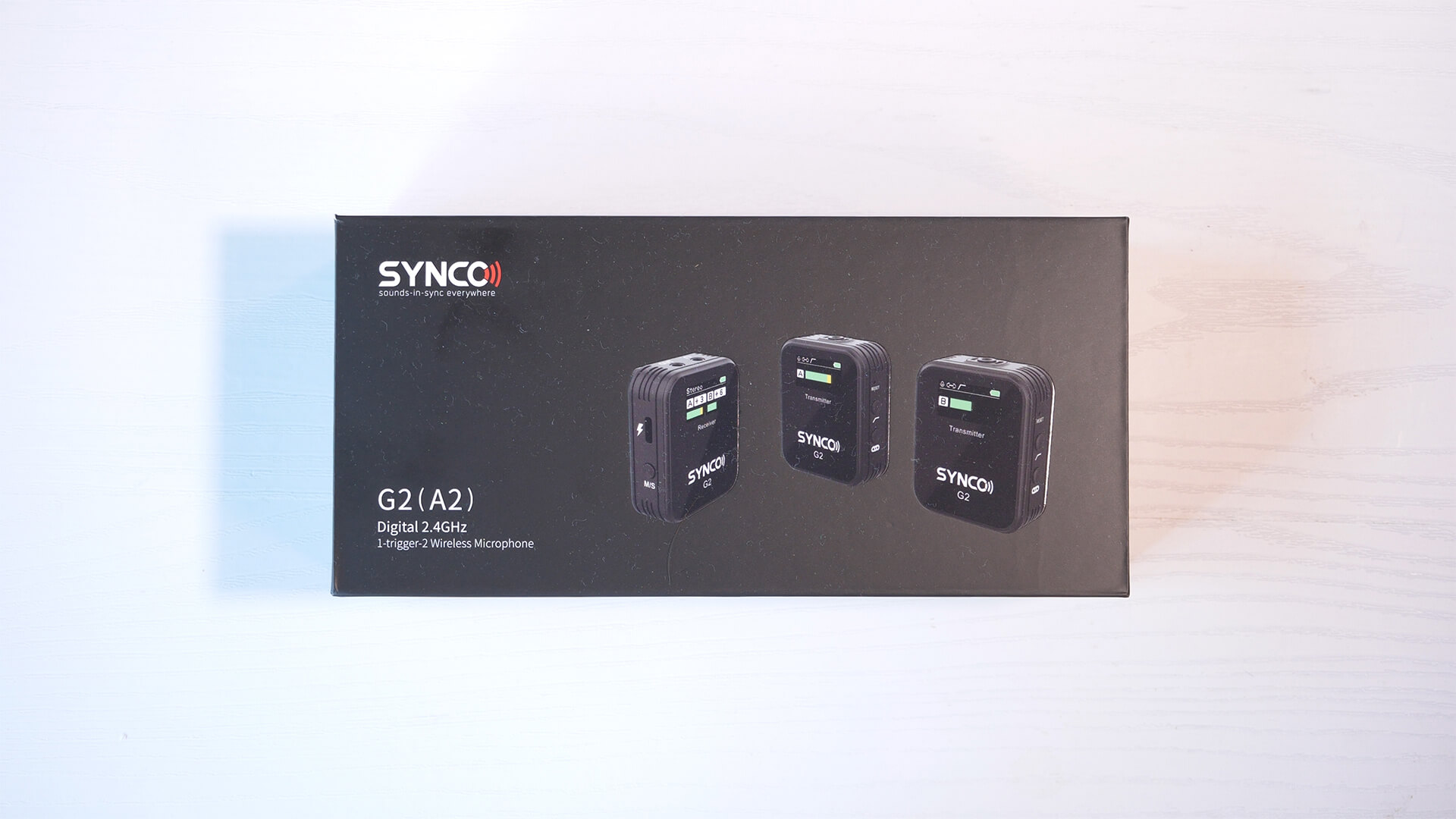 Synco G2(A2)の梱包パッケージ