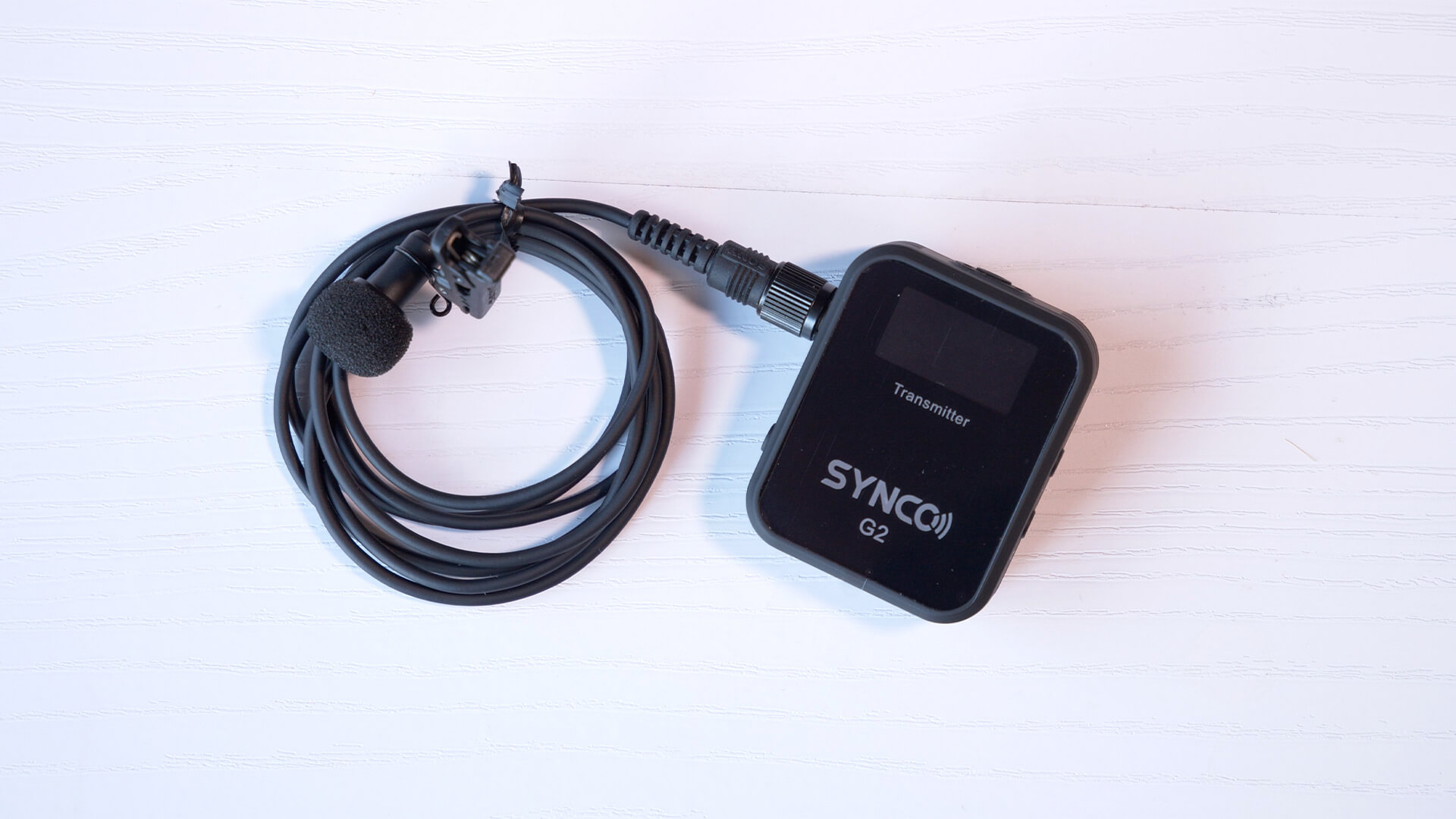 SYNCO G2(A2) 送信機にUTX-B40のラベリアマイクを接続